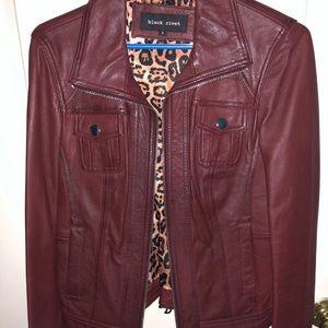 REAL leather jacket - Black Rivet
